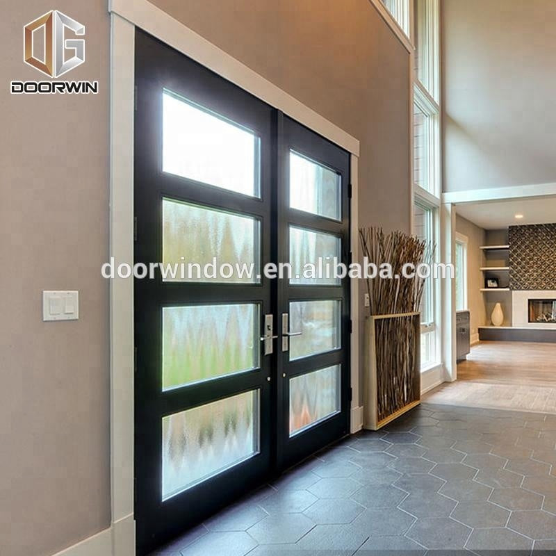 Best selling products Double glazing Aluminum casement Window glass outswing window and door Glass Casement Doorby Doorwin on Alibaba