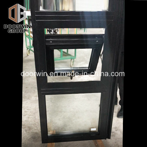 Black Powder Coating Paint Color Aluminum Awning Window - China Aama Windows, Doors Windows