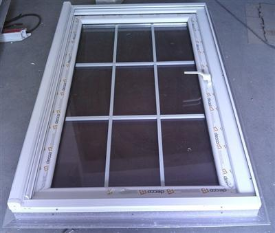 Caribbean Style PVC/UPVC Casement Window - China PVC Casement Window, PVC Window