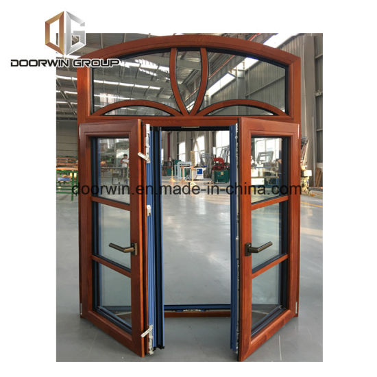 Casement Window with Grill Design - China Fixed Round Window, Round Top Windows