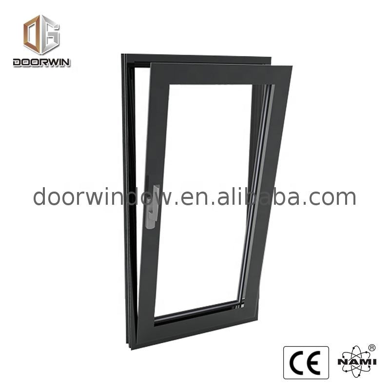 Casement windows and doors made by factory in shanghai comply with american standard 24 x 72