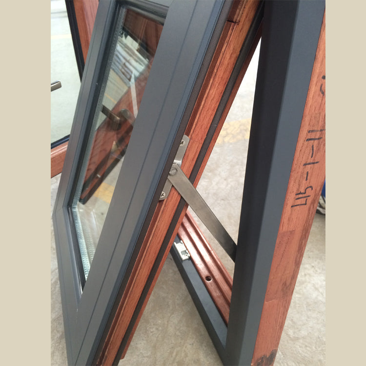Cheap Factory Price awning top hung windows with netscreen and double glazing tempered glass