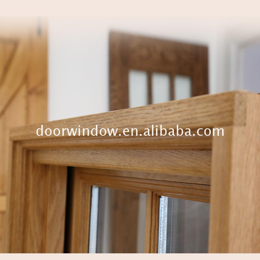 Cheap Factory Price casement wood windows american crank window