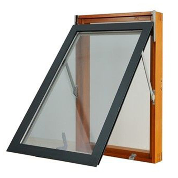 Cheap aluminum awning top hung windows with low-e glass hollow 1200 x 1800 window