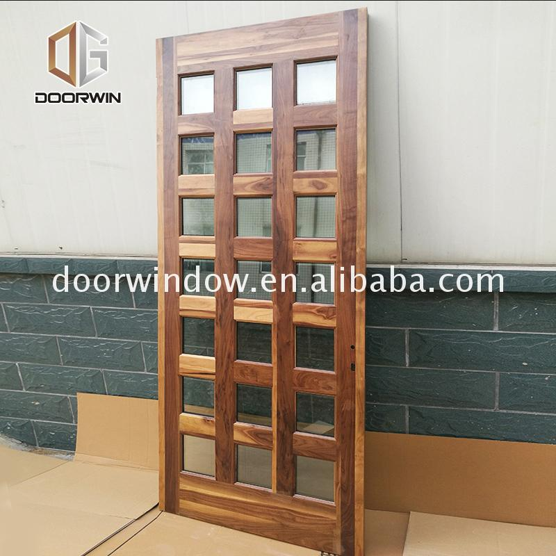 Cheap new wood door design model photos latest