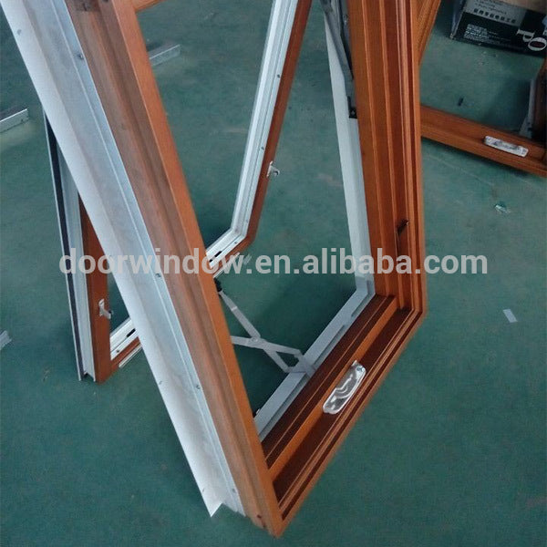 Cheap top hung aluminium windows hinge awning window timber look and doors