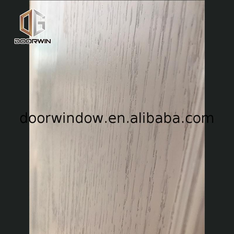 China Supplier solid wood room divider doors 3 panel white oak