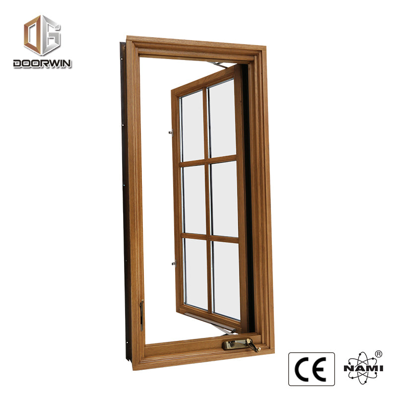 China doors and windows grill design and mosquito net chain winder awning window with manual crank by Doorwin on Alibaba