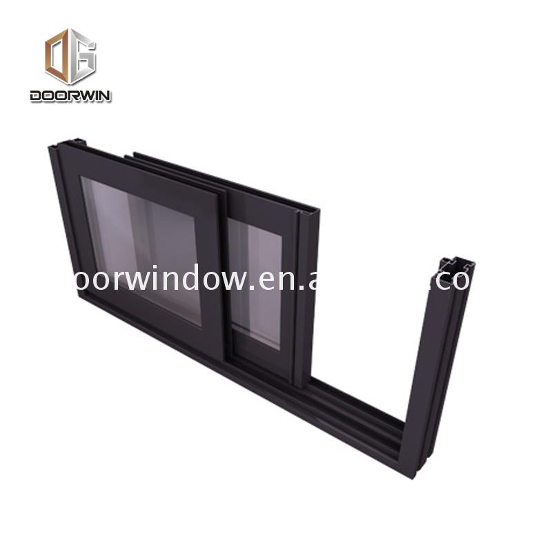 China factory supplied top quality easy slide windows durban aluminium dual sliding