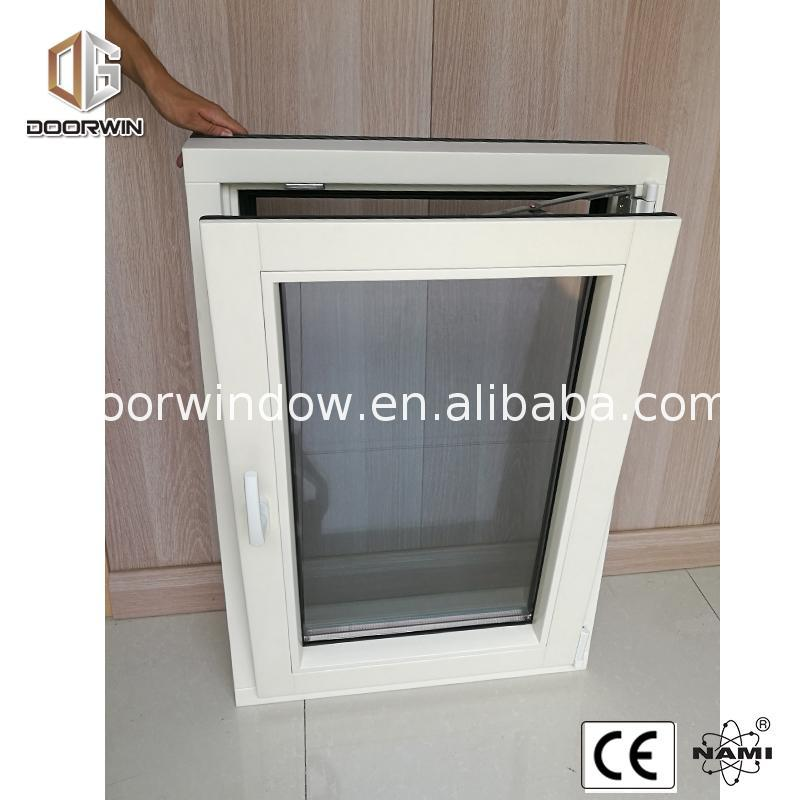Chinese Factory Hot Sale aluminium with wood cladding windows tilt window & turn
