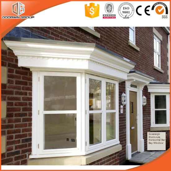 Chinese High Quality Wood Bay Bow Window with Grille - China Bay Window, Casement Window