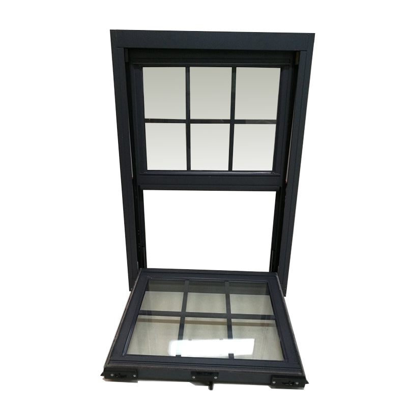 Chinese factory french aluminum window double hung windows