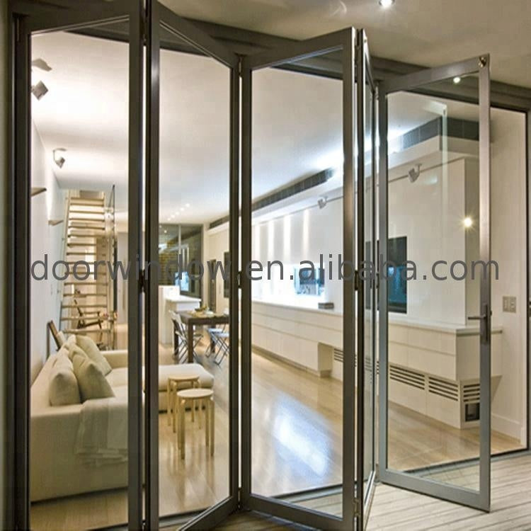 Classroom partition folding door china supplier popular interior bi-folding cheap doors by Doorwin on Alibaba