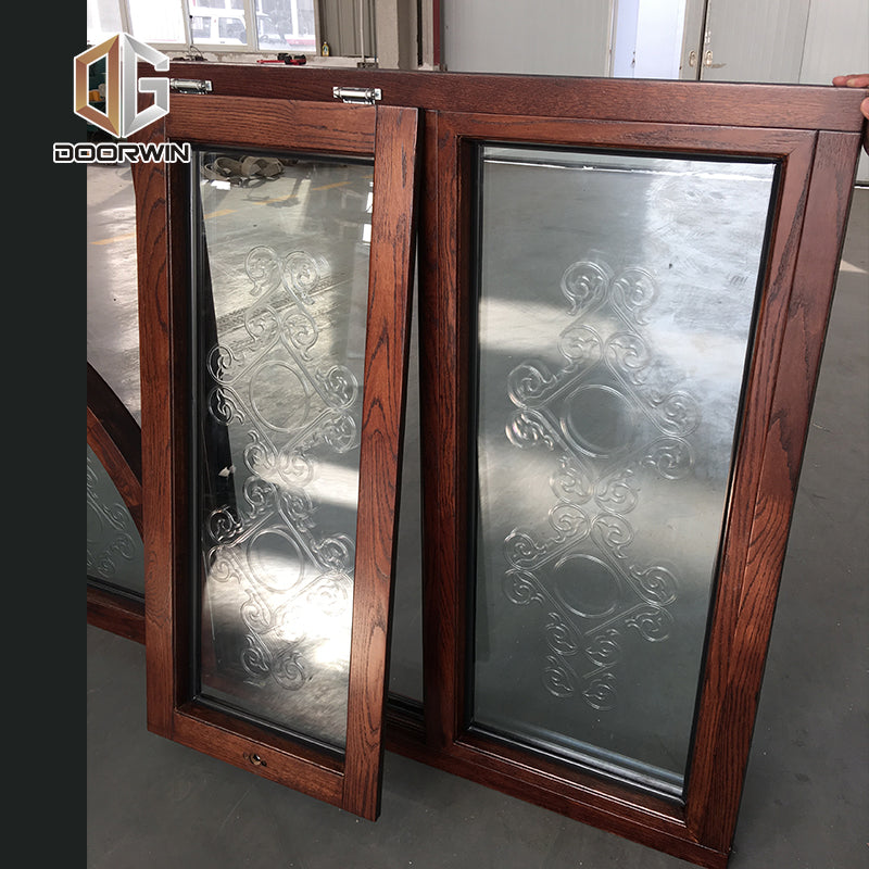 Comfortable new design termopanel windows teak wood windows teak wood window design by Doorwin on Alibaba