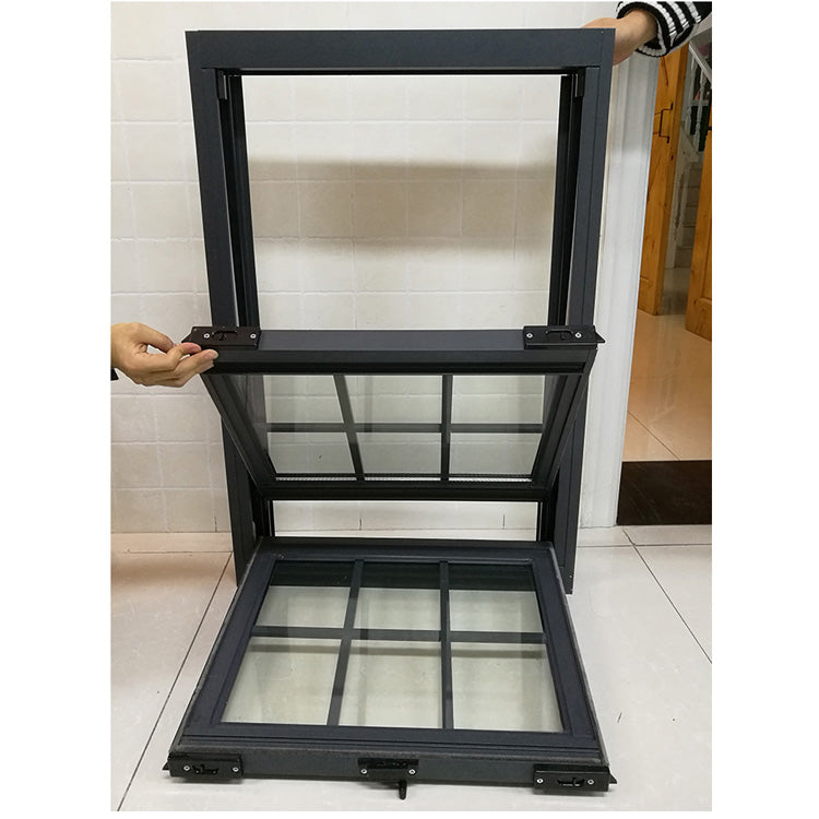 Competitive price double hung window dimensions detail vs casement windows