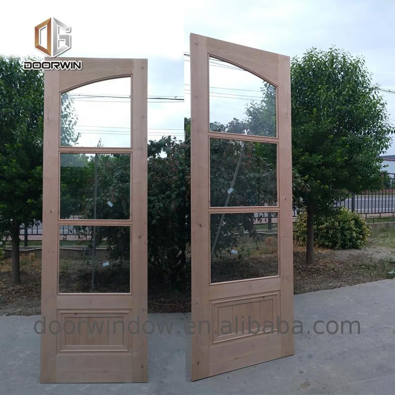 Door glass window round curved glass door cheap glass doors