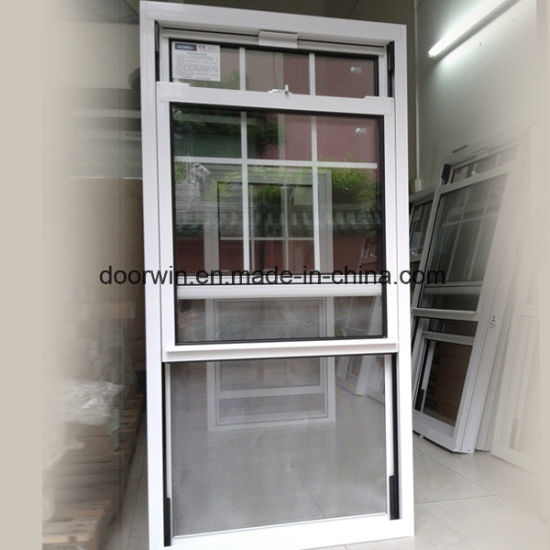 Double Hung Aluminum Window, American Single Hung Thermal Break Aluminum Window - China Single Hung Window, Wood Grain Single Hung Windows