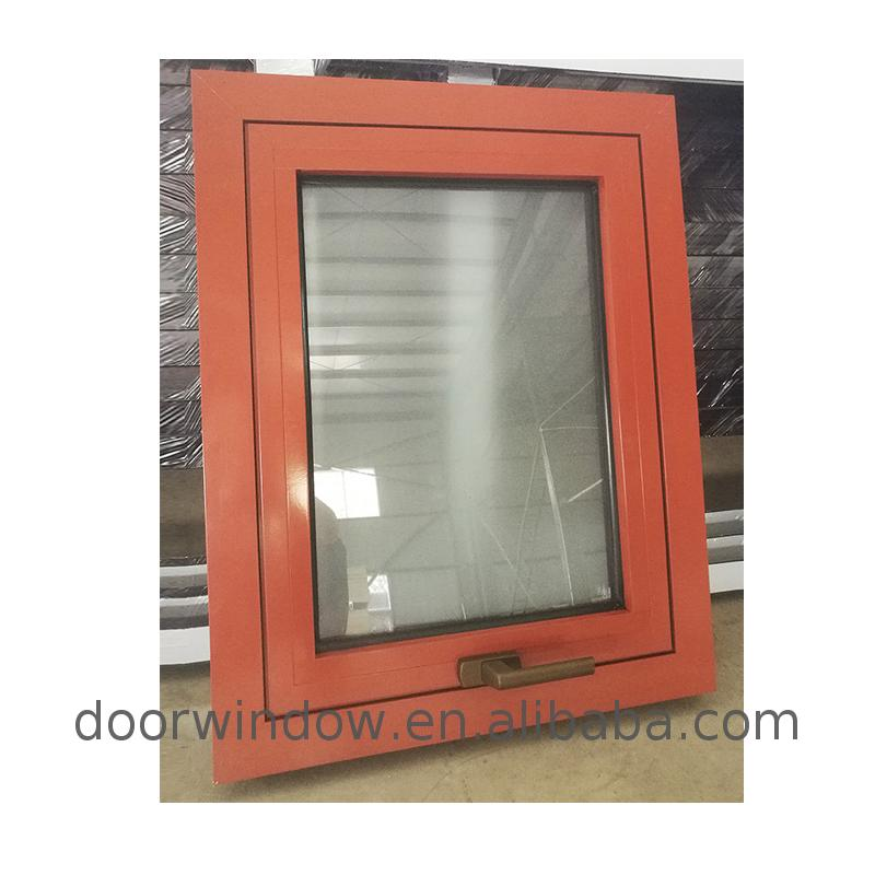 Double glazed aluminium window glaze windows doors