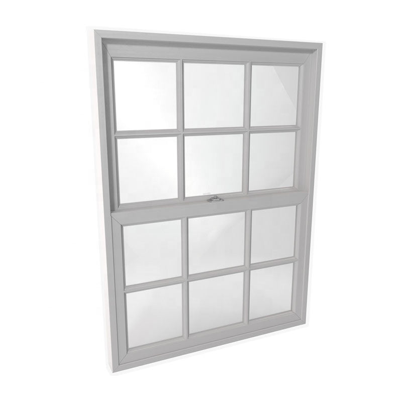 Double hung wooden window single floor to ceiling windows