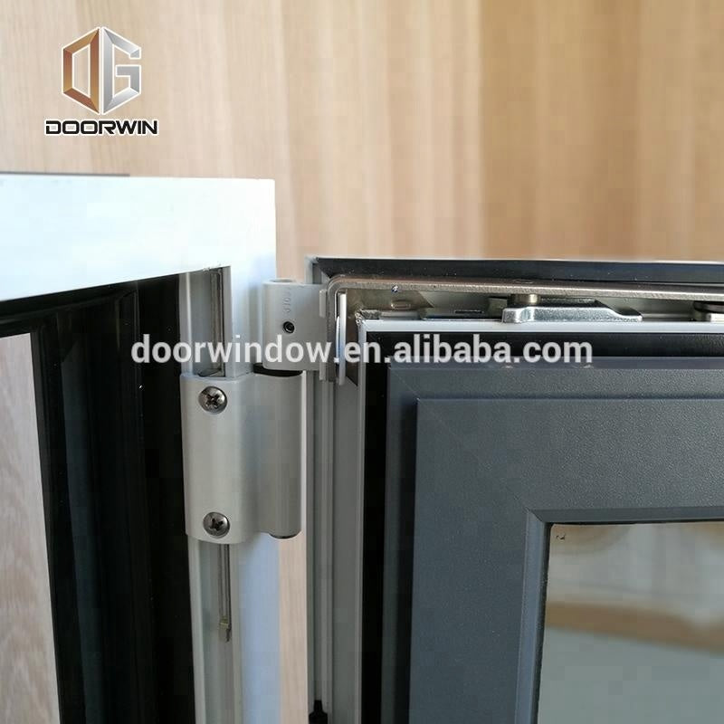 Double toughened cheap & big size aluminum tilt and turn window by Doorwin on Alibaba