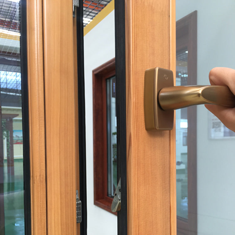 Easy Cleaning Dual Pane Tilt Turn Window Come With Wood Cladding Metal by Doorwin