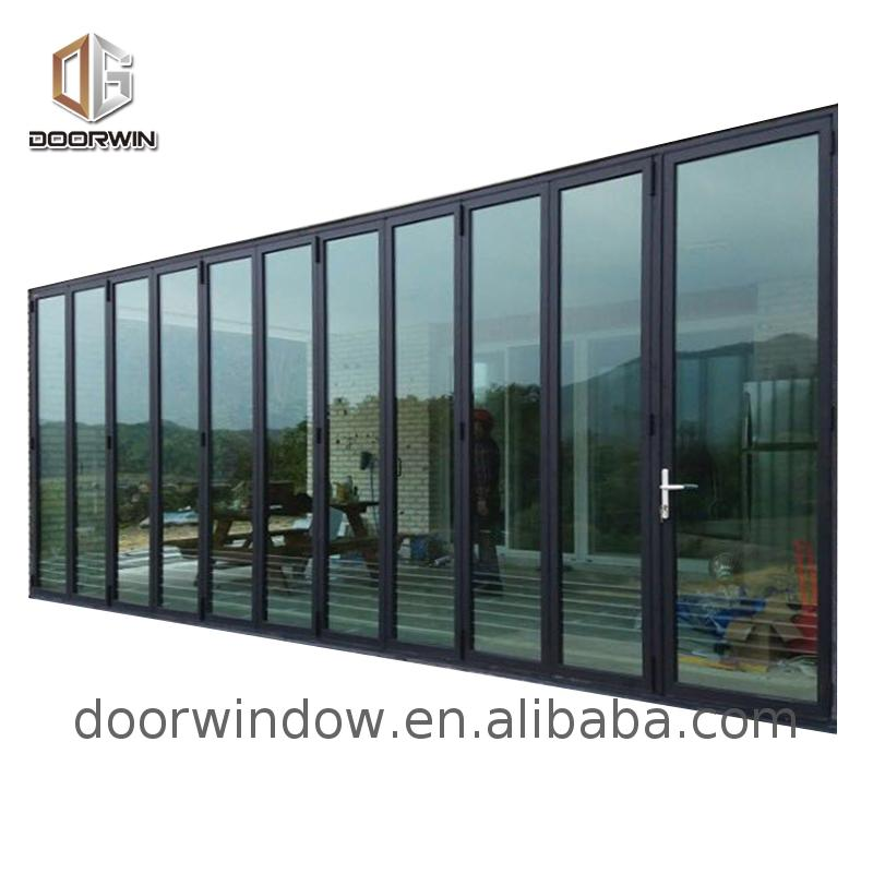 Energy saving america standard aluminium bi-fold windows double glazed folding patio doors