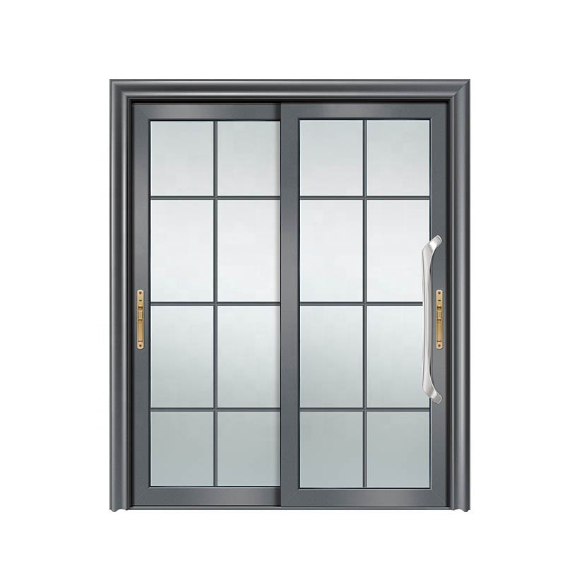 European sliding glass door entrance slide energy saving aluminium hanging by Doorwin on Alibaba