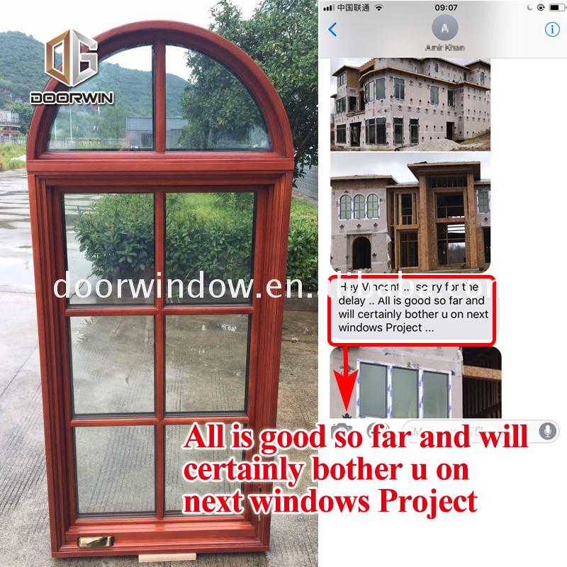 Factory Direct High Quality crank window out windows