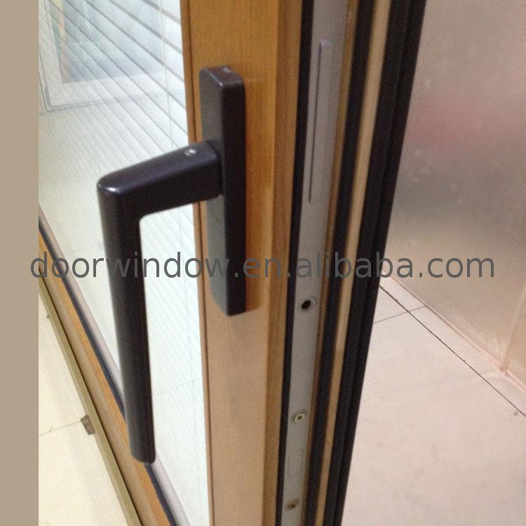 Factory Direct High Quality dual pane sliding patio doors cost of doorwin brown