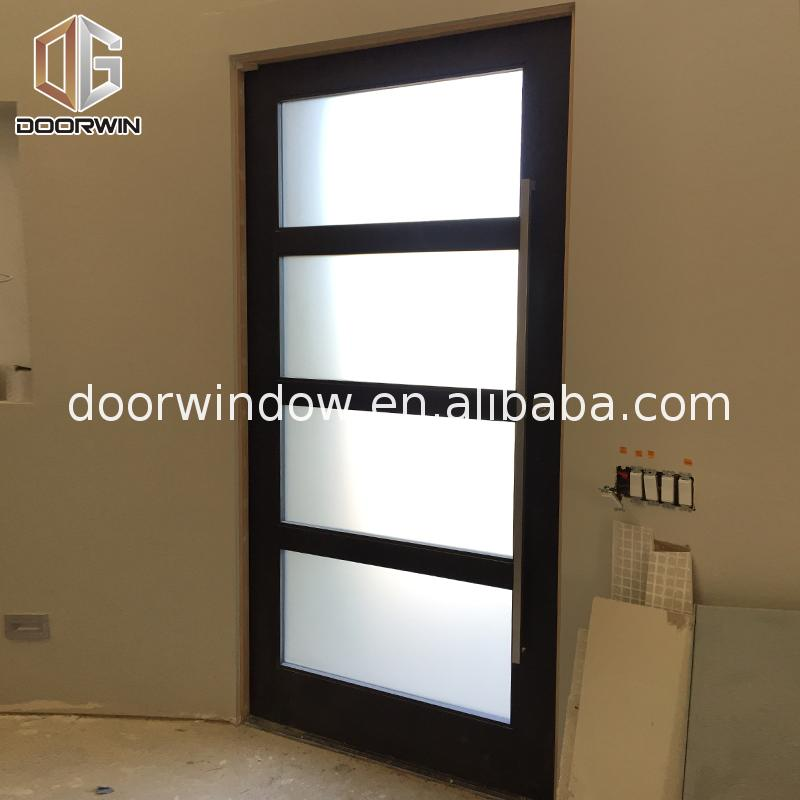 Factory Direct Sales external oak doors with sidelights exterior wood entrance