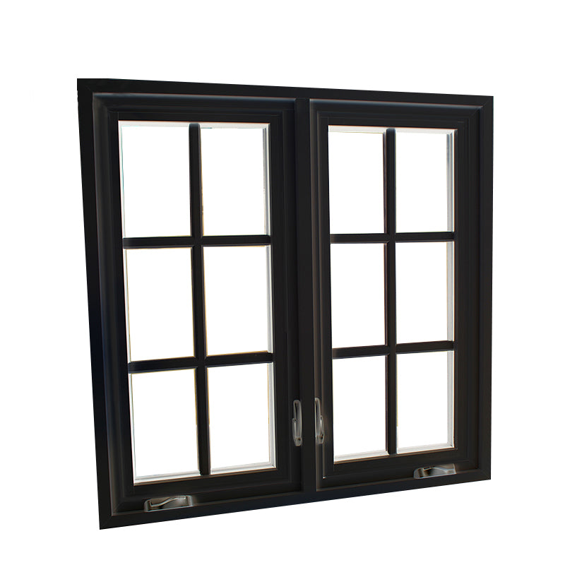 Factory Directly Supply timber casement windows for sale sunrise