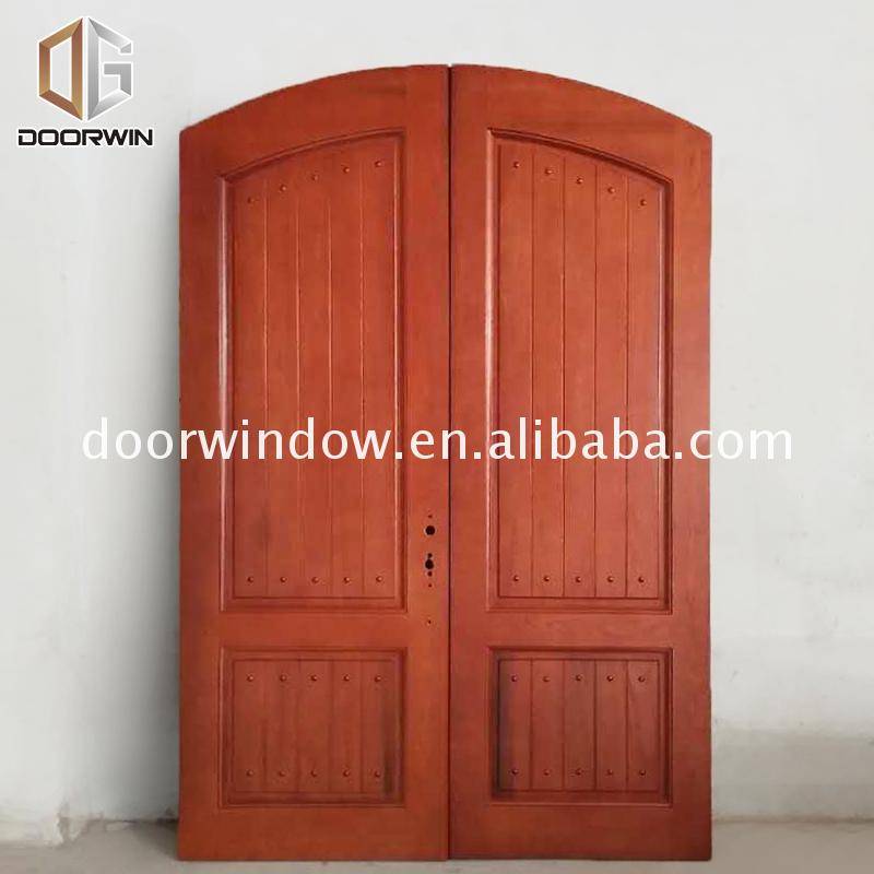 Factory Directly Supply wood front door with sidelights french doors exterior lowes