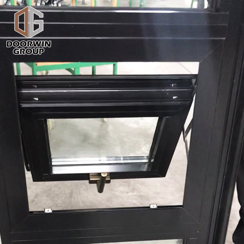 Factory Directly black aluminum windows beautiful window grill design awning crank