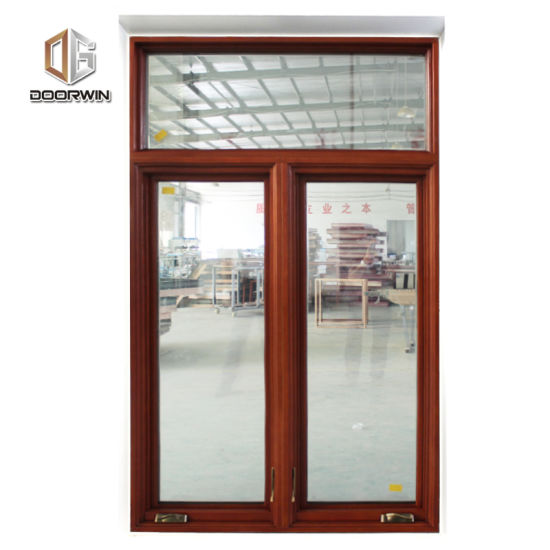 Factory Price Newest Wood Clad Aluminum Casement Window - China Aluminum American Crank Casement Window, Aluminum and Wooden Windows