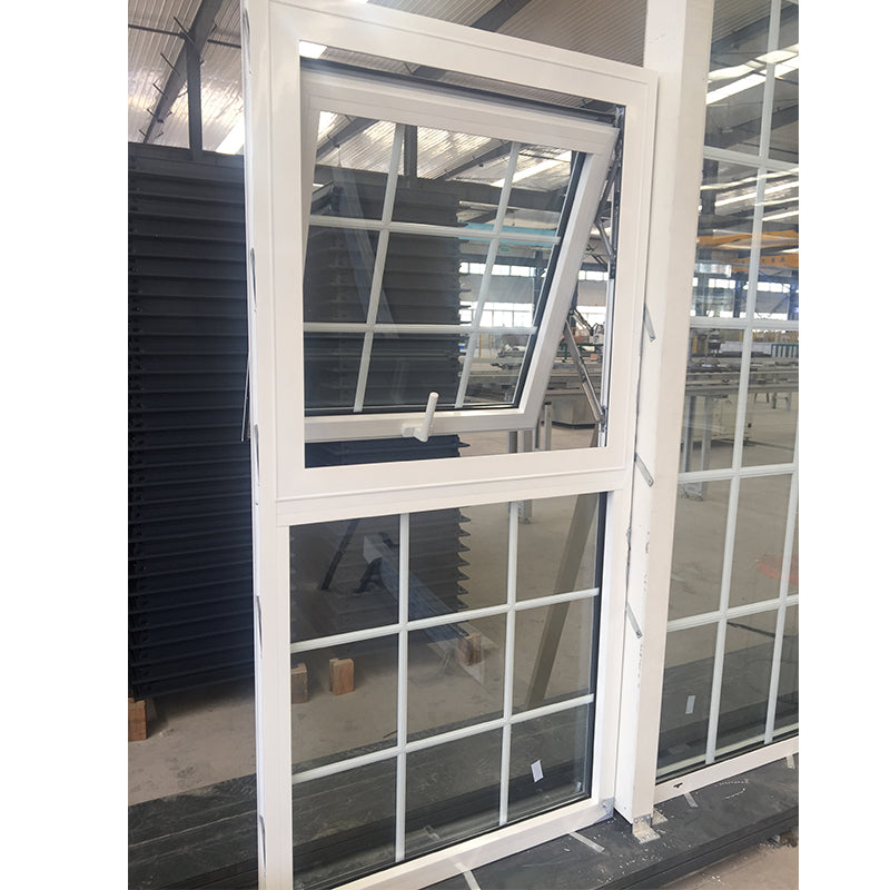 Factory Supplying aluminium awning window grill design glass wholesale casement