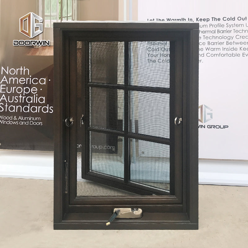 Factory Supplying aluminum american crank casement window with cheap price