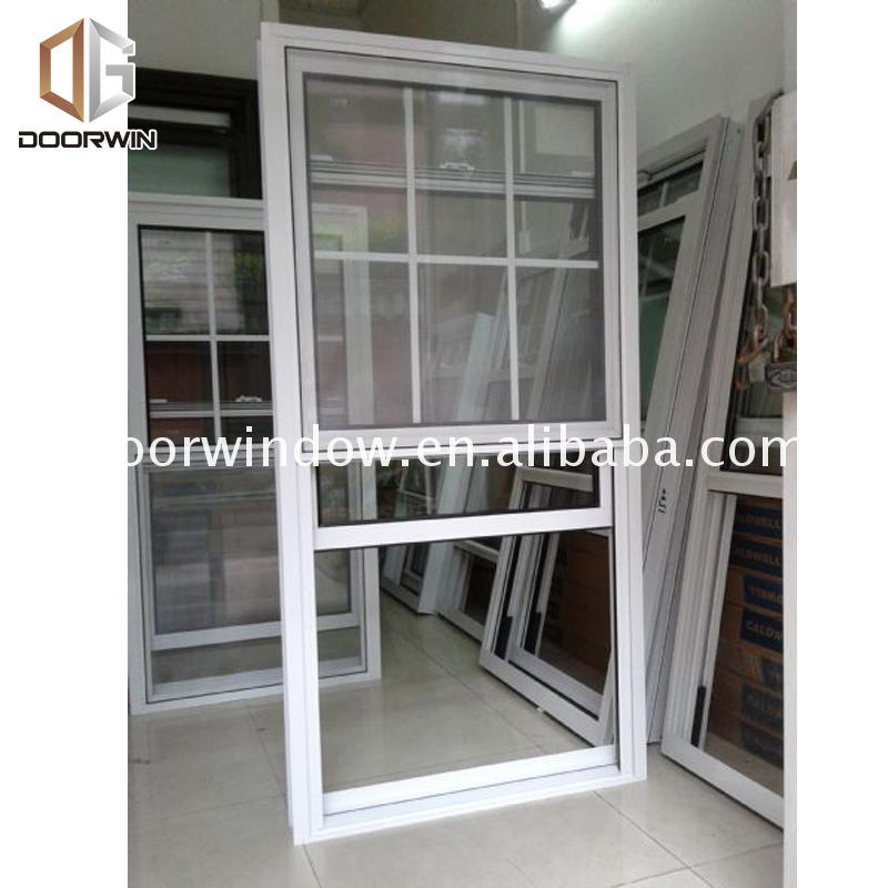 Factory cheap price double hung window locks security insulation images