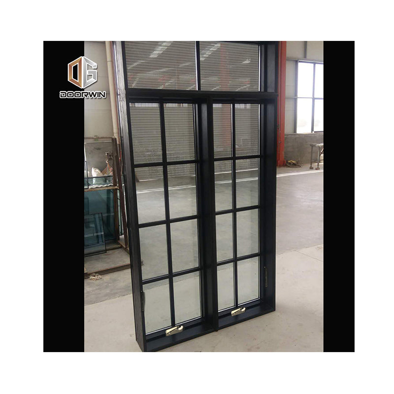 Factory custom awning style crank window american grill design