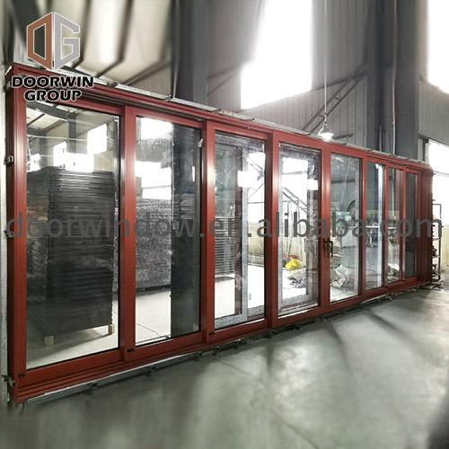 Factory custom six panel glass exterior door doors monarch aluminium