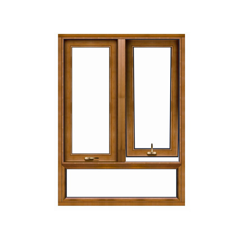 Factory direct awning windows insect for canada window with non thermal break profile