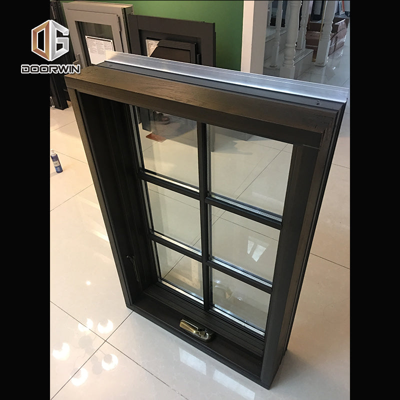 Factory direct price aluminium window grill design casement with