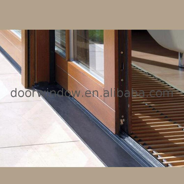 Factory direct price sliding door shutters shelf shades inside