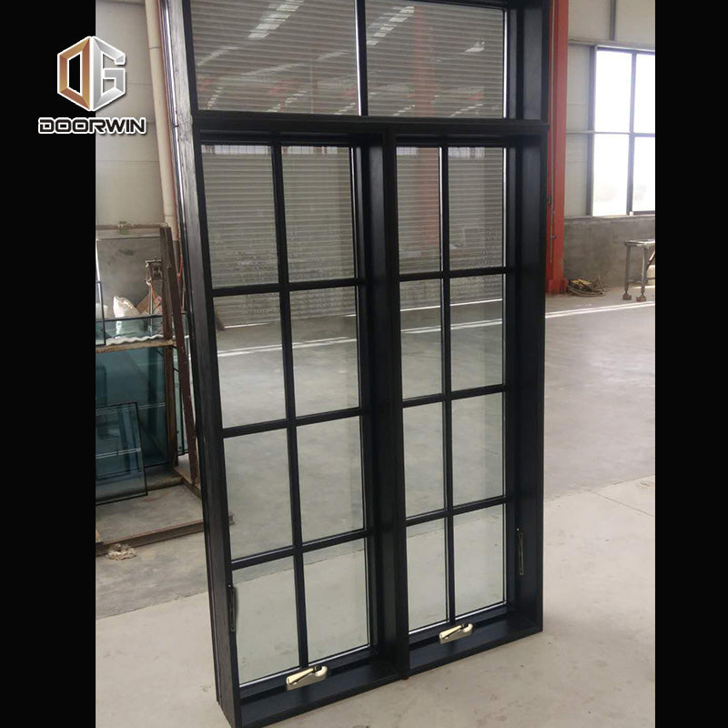 Factory direct sale grill design wood window crank windows Fast delivery
