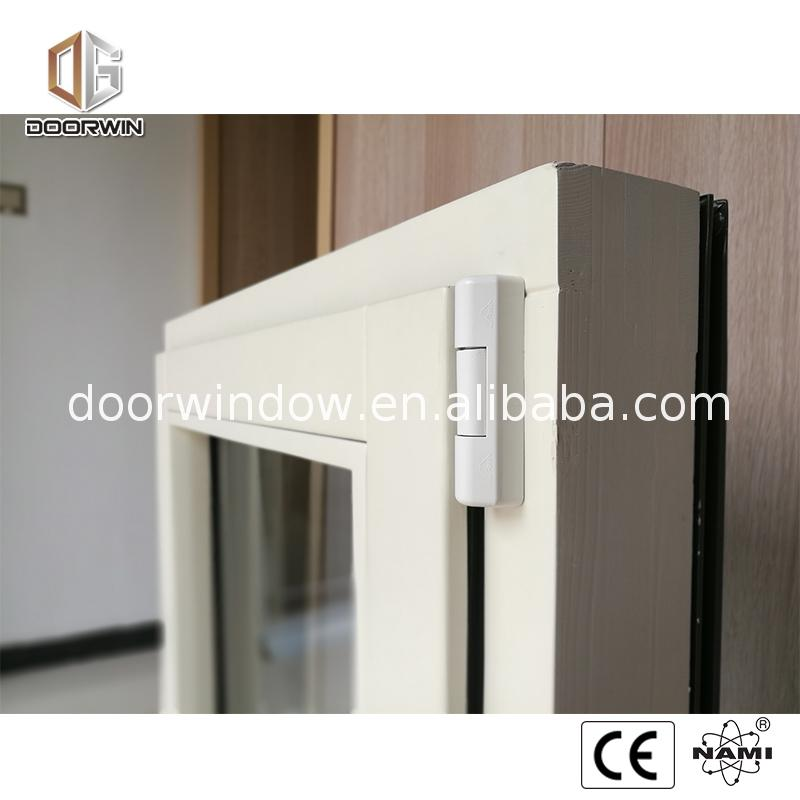 Factory direct sale two way open window triple glazed tilt turn windows