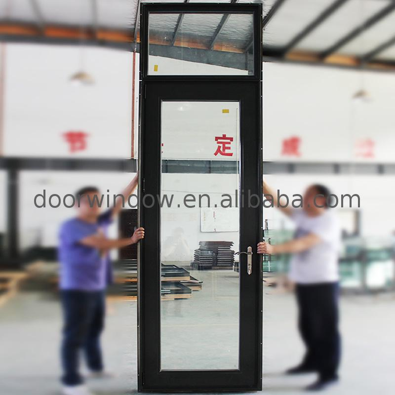 Factory direct selling full glass entrance doors door front entry with lowes