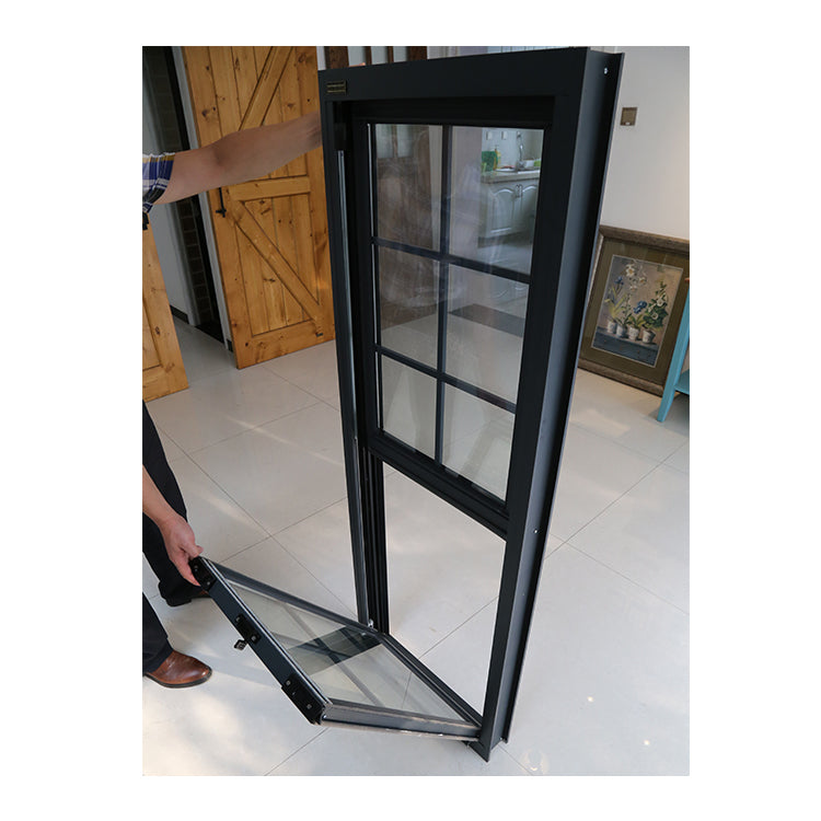 Factory direct selling types of windows double hung triple pane cost tall