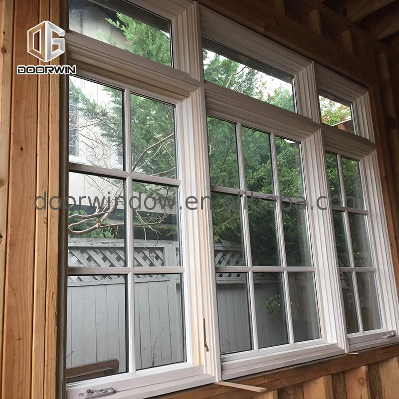 Factory direct selling wood aluminum windows window composite casement