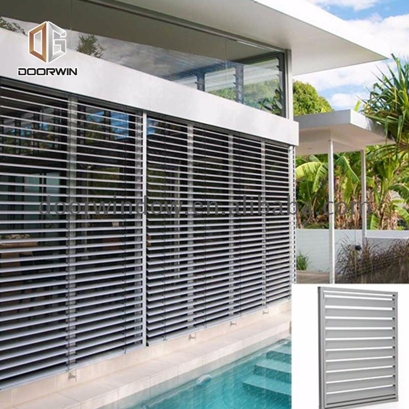 Factory direct supply oversized window shades outdoor window aluminium louvres