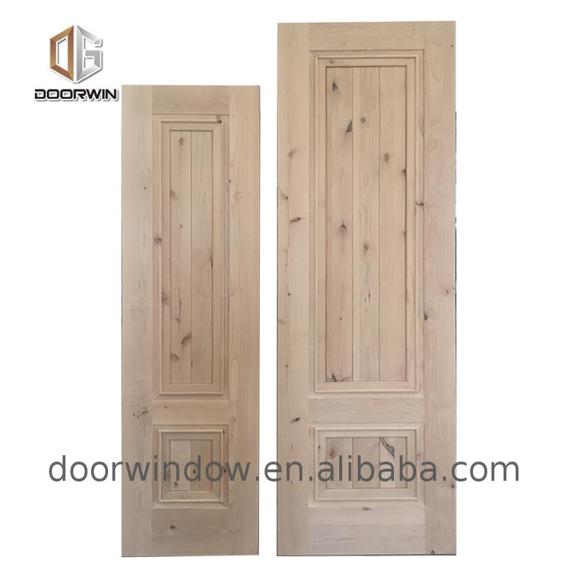 Factory direct supply unfinished solid wood interior doors oak