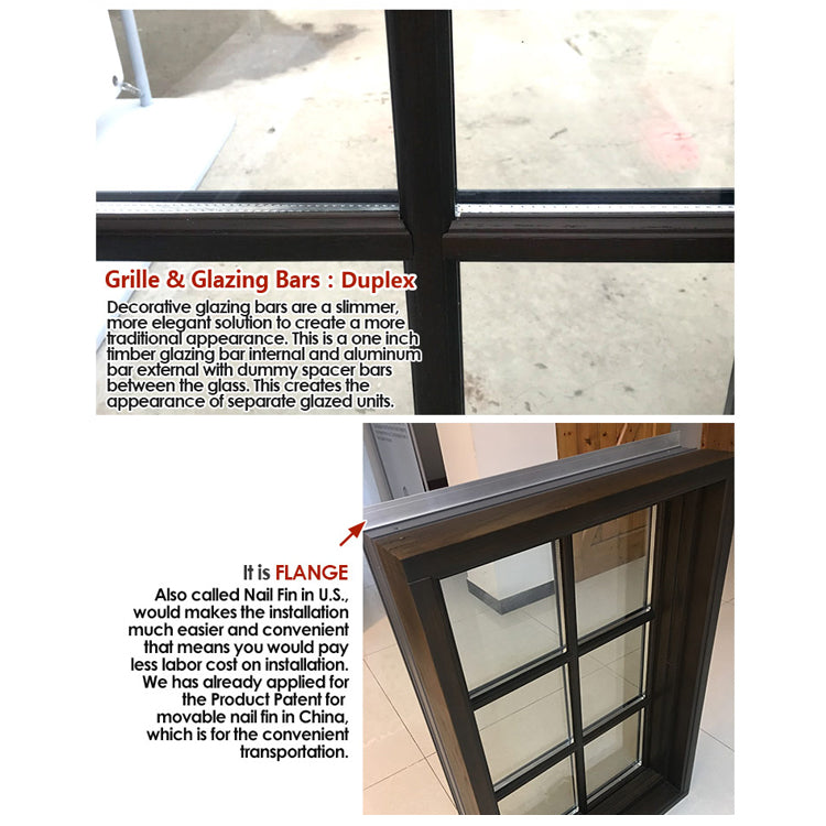 Factory direct window grill design windows round for sale